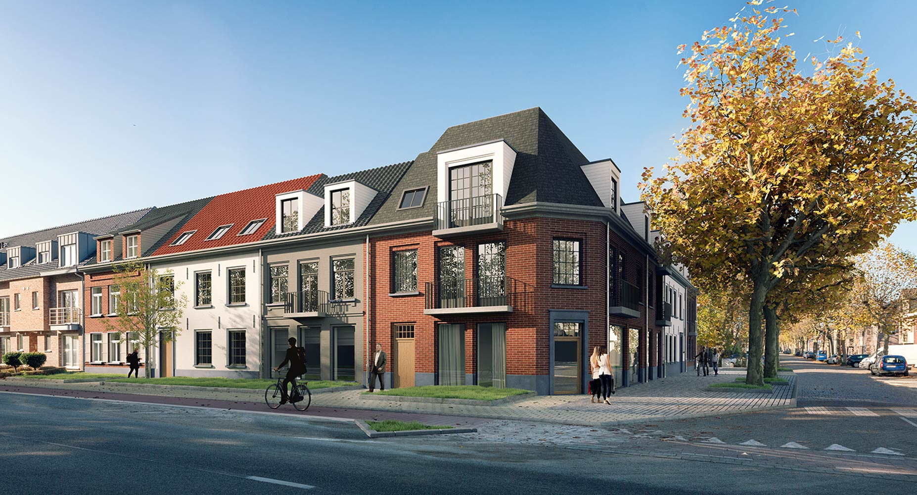 3D plan 1 woningen - Kuypershoek