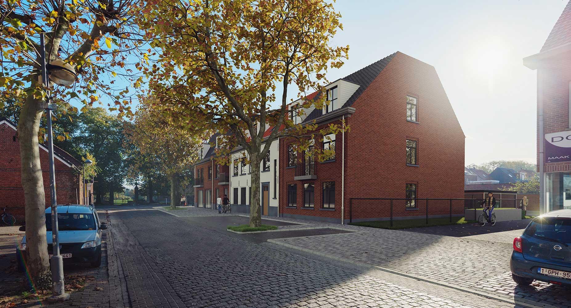 3D plan 2 woningen - Kuypershoek